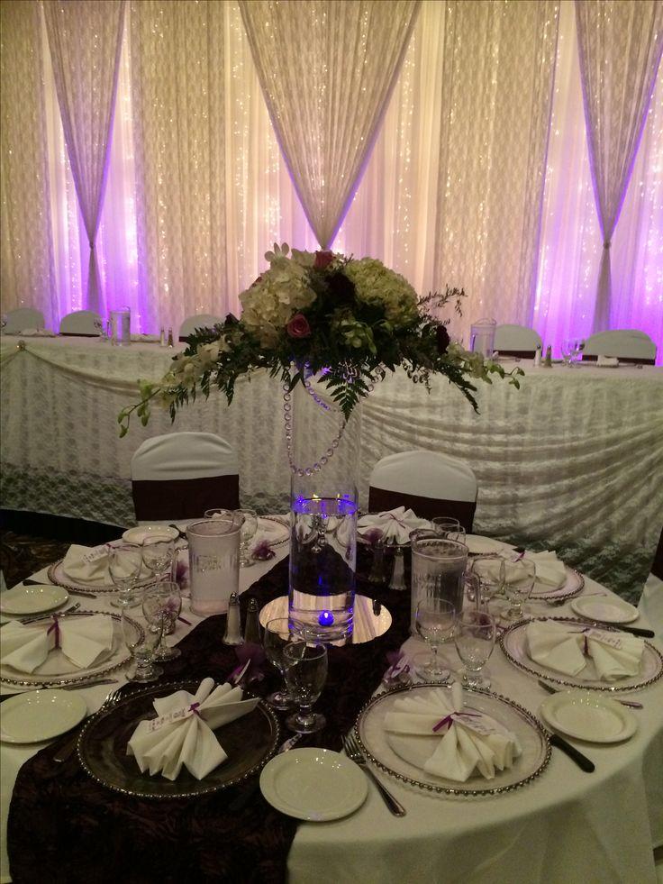 exquisite eggplant wedding lachefs lachefsdecor decor vintagebackdrop wedding pinterest. Black Bedroom Furniture Sets. Home Design Ideas