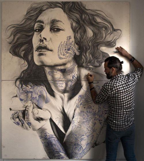 incredible art !!! by GABRIEL MORENO - #Art #LoveArt https://wp.me/p6qjkV-eCq