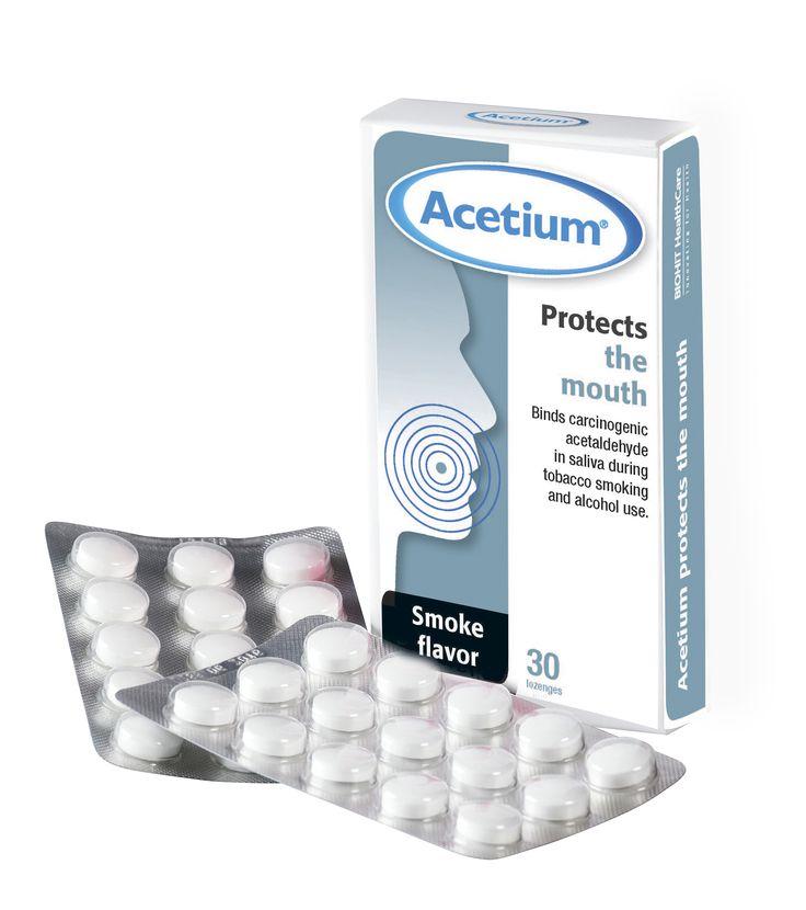Acetium lozenge