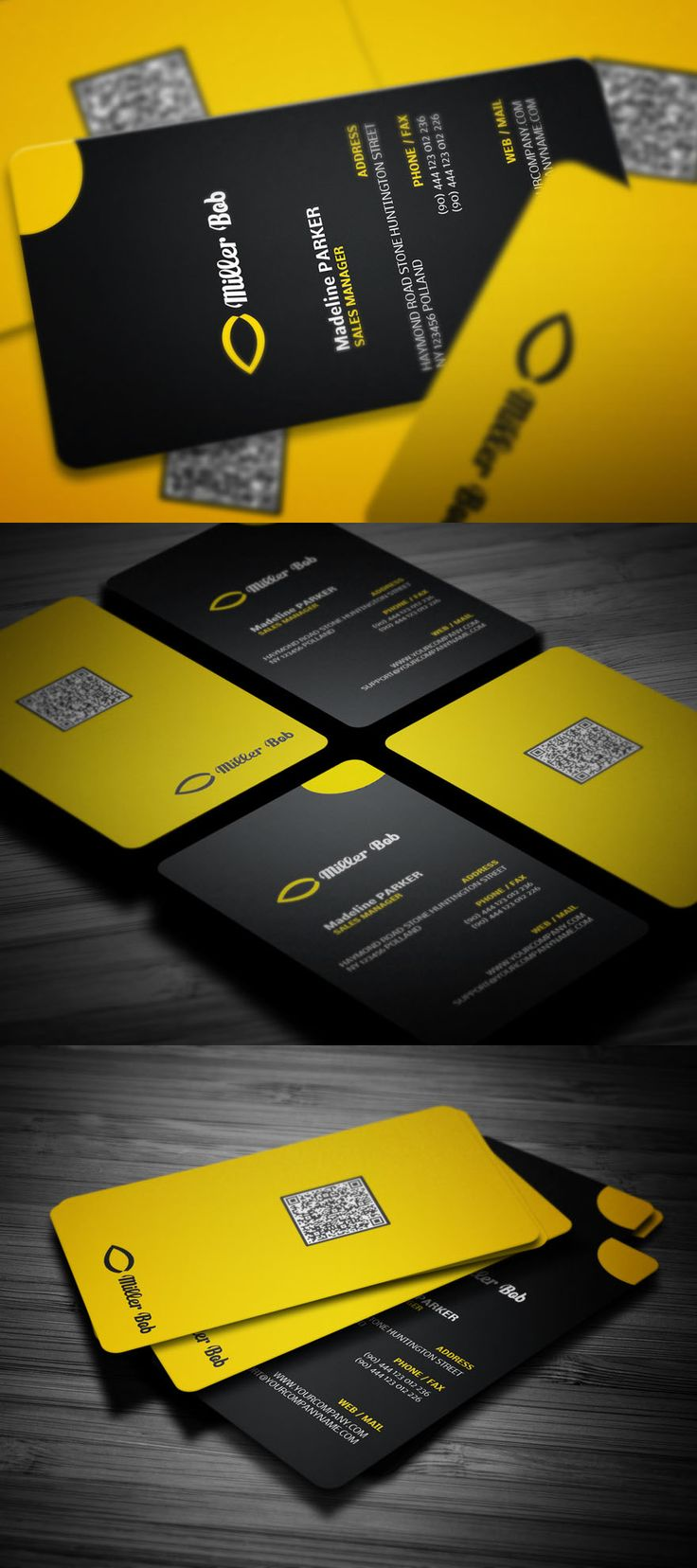 745 best Design | Business Cards images on Pinterest | Business ...