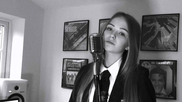 writings on the wall - Sam Smith - Connie Talbot cover > Schriften an der Wand - Sam Smith - Connie Talbot Version