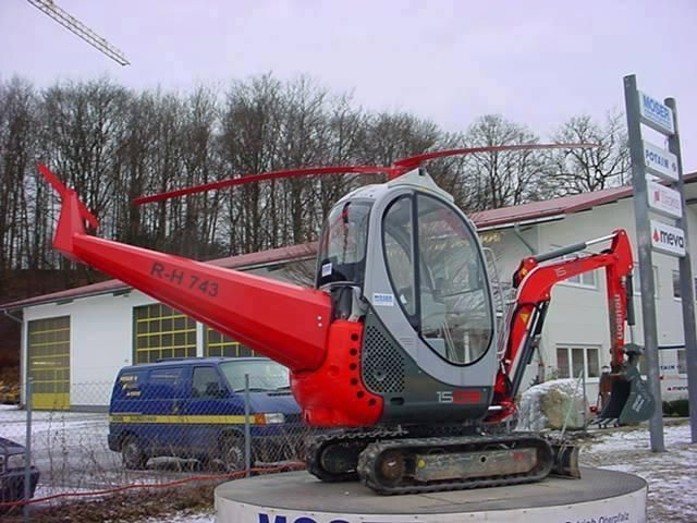 Exca-copter? Heli-cavator? What would you use it for? #RockandDirt #Excavators