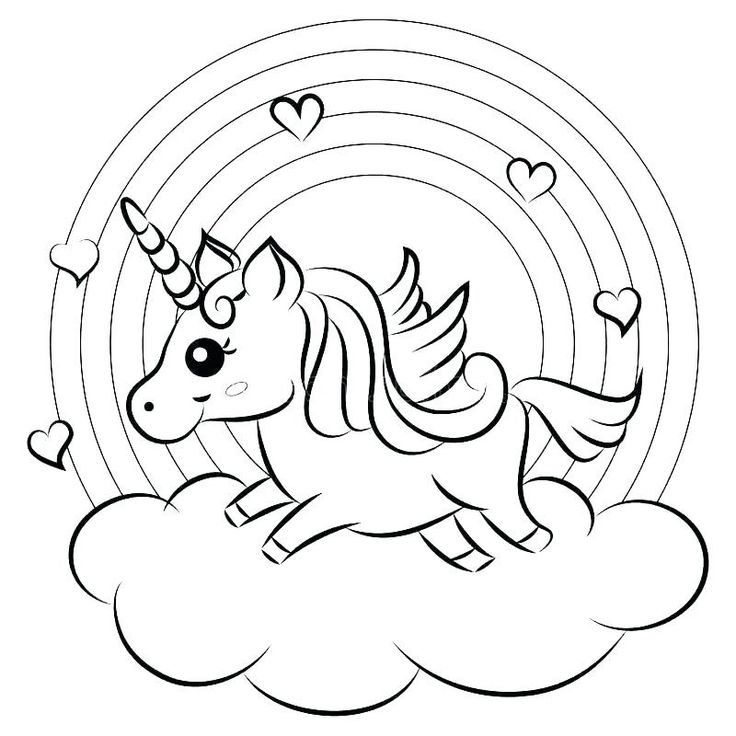 Pin by Tana Herrlein on Coloring Pages - Unicorns ...
