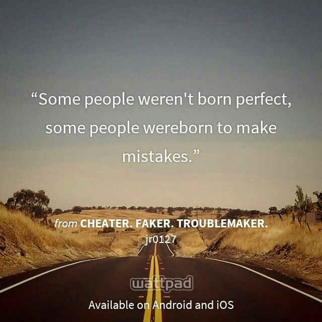 Imperfectly perfect :)