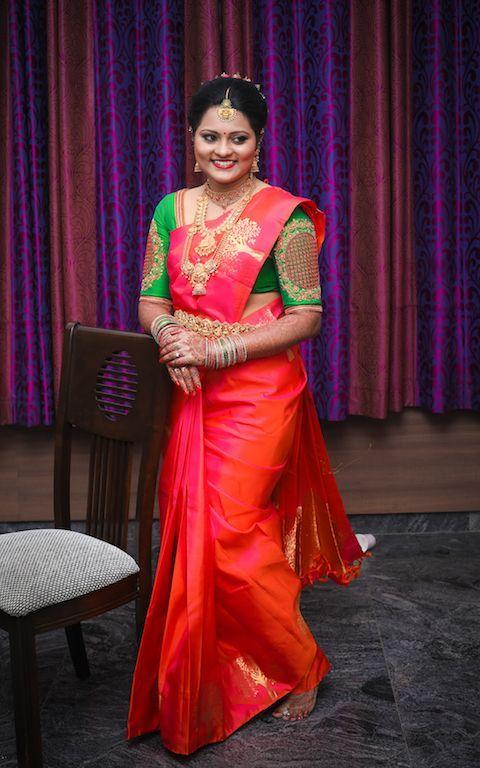abd3bea69b85cb 16 Amazing Blouse Work Designs For Pattu Sarees | Beautiful saree ...
