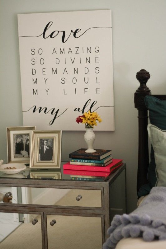 Love So Amazing canvas from Naptime Diaries