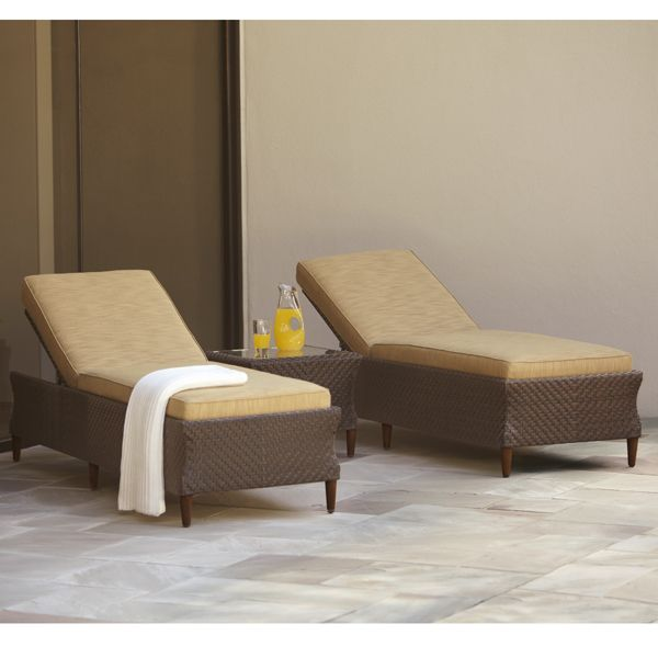 17 best images about brown jordan for the home depot on for Brown jordan chaise lounge