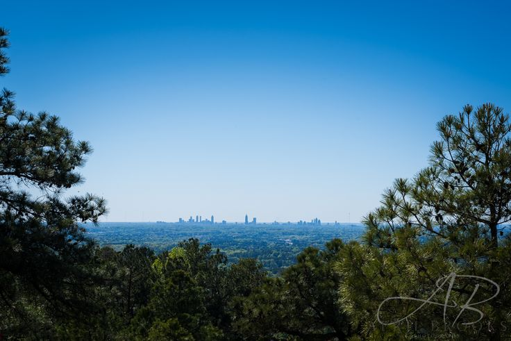 Atlanta skyline from the top of Stone Mountain. ©April Brooks Photography, LLC https://www.flickr.com/photos/61393342@N07/