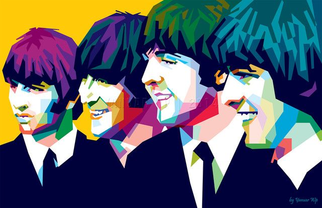 The Beatles in WPAP by Yanuar