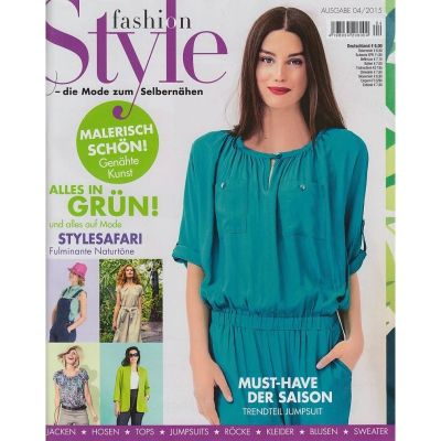 deutsche Zeitschrift Fashion Style April 04/2015