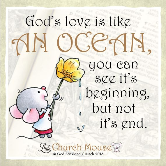 Have a blessed week #LittleChurchMouse