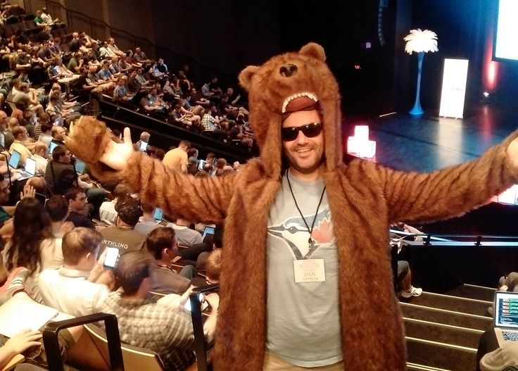 Gary the Vehikl Bear Coat made a few appearances