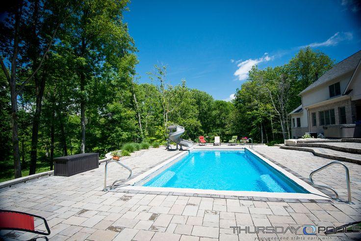 66 Best Thursday Pools Fiberglass Swimming Pool Images On Pinterest Thursday Backyard And