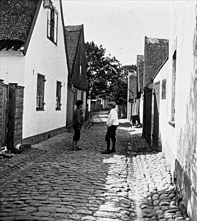 Strandstræde 33A og 33 i 1910