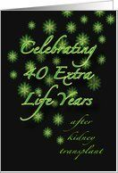 22 best kidney party images on pinterest kidney disease kidney 40th kidney transplant anniversary party invitations card by greeting card universe 300 5 x m4hsunfo