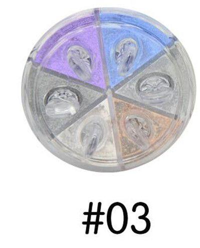 FUN FUN Eye shadow Pigments Box Eye Makup Eye Shadow Powder Super Stage make up set A2