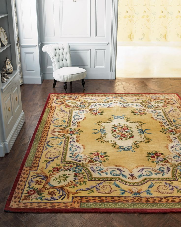 "Safavieh ""Gold Ribbons"" Rug - Horchow"