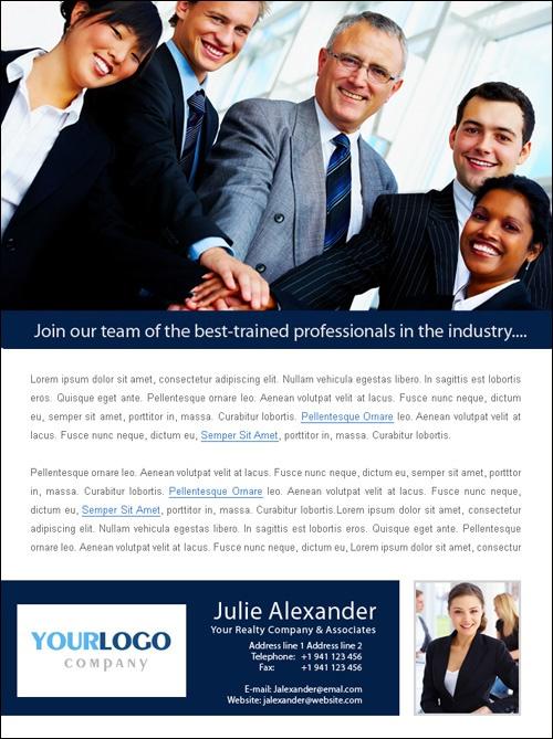 recruitment flyer examples