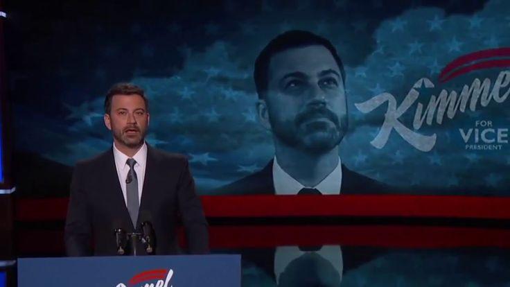 VP Candidate Jimmy Kimmel on the Hamdog 2016