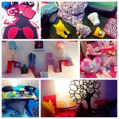 #escaparate #vidriera #regaleria #bazar por color