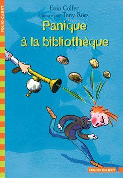 Panique à la bibliothèque - Folio Cadet - Livres pour enfants - Gallimard Jeunesse