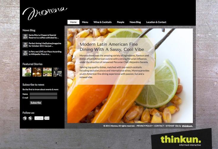 Morena website