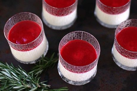 Ultima Thule glasses for serving dessert not just for your favourite drink, great as dessert glasses too! https://bit.ly/2HdnkYN