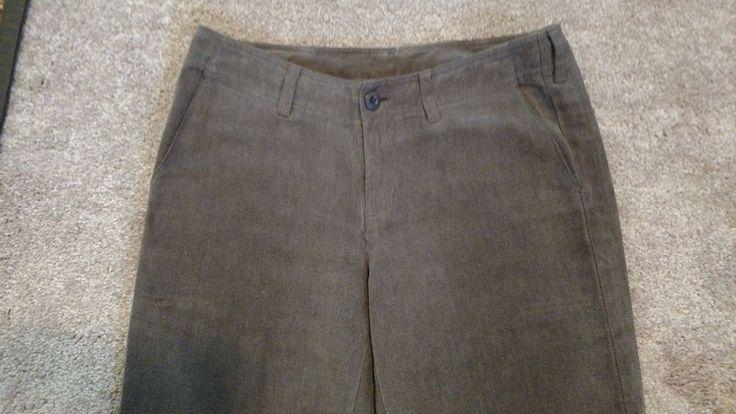 PATAGONIA Hemp Pants Women's Size 6 Brown Hemp/Polyester #Patagonia #pants