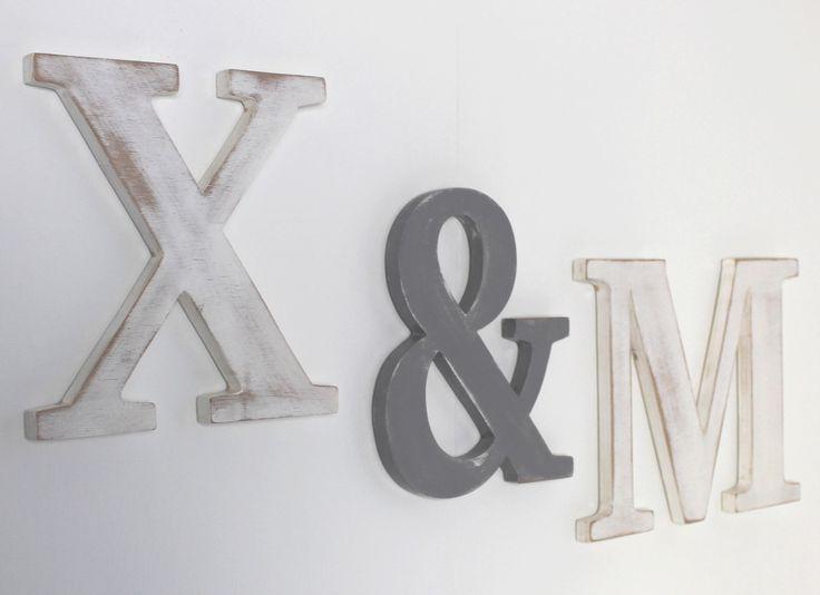 Les 25 meilleures id es concernant lettres de monogramme en bois sur pinteres - Lettre de decoration ...