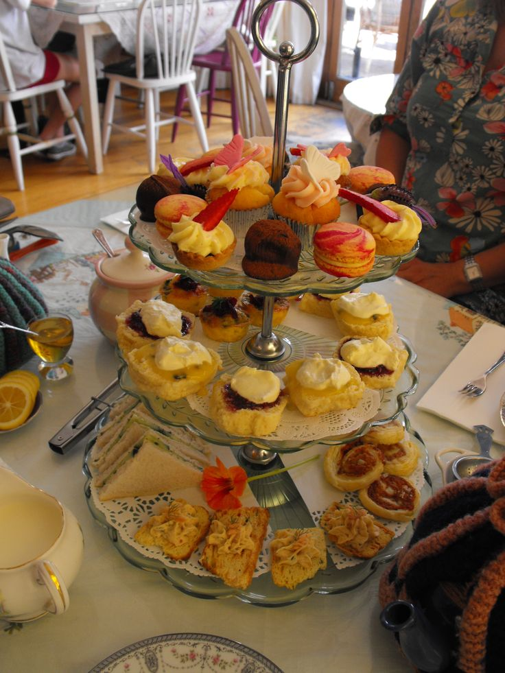 High Tea, Martha's Pantry, Upper Cuba Street, Wellington NZ