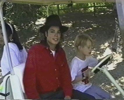 Fotos Animadas de Michael Jackson.