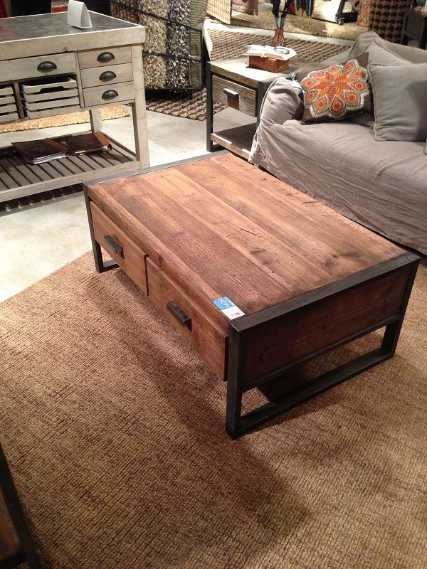 Coffee table with drawers by Classic Home Furniture. // www.KeyHomeFurnishings.com in Portland, Or