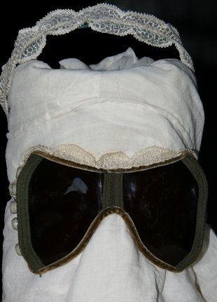 Kaufe meinen Artikel bei #Kleiderkreisel http://www.kleiderkreisel.de/accessoires/sonnenbrillen/139219489-endzeit-schutzbrille-mit-haarreif