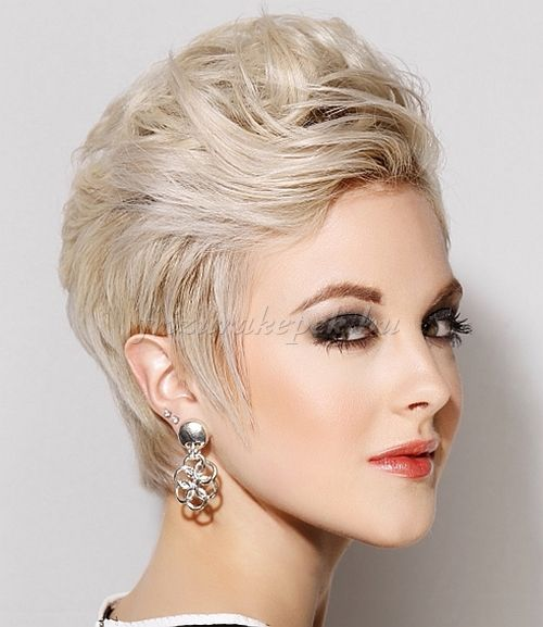 tupírozott rövid frizura