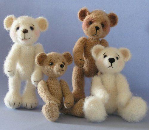 Easy Crochet Teddy Bear Pattern | Crochet a Mohair Bear ...