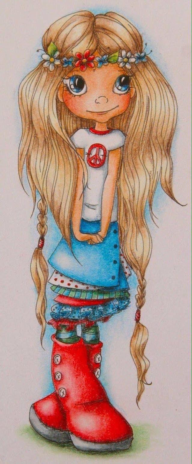 Pin By C Reyes On Flower Child Big Eyes Art Hippie Art