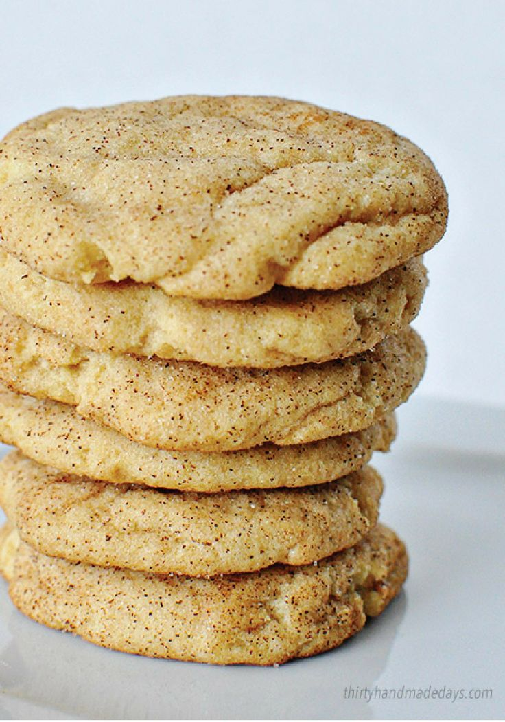 Snickerdoodle Cookies – You didn't think that this classic dessert recipe could get any better? Think again!