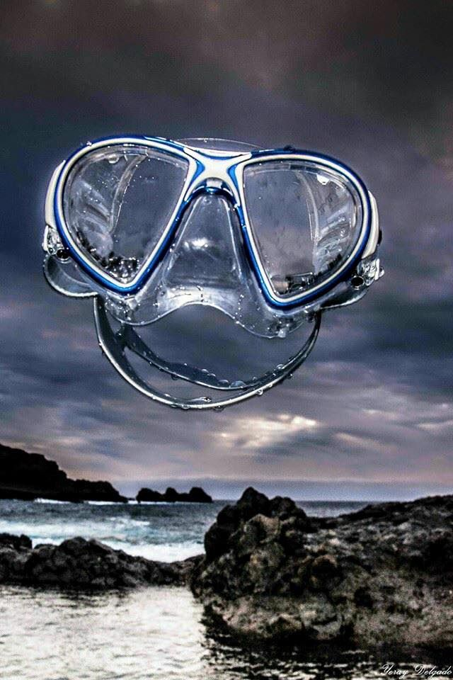 CRESSI Air mask crystal silicone Made in Italy