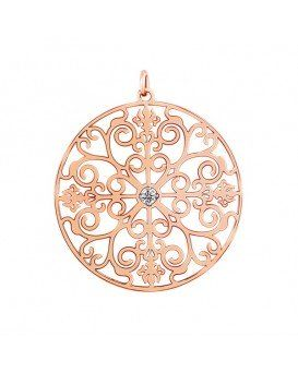 Deviant Art Diamond Pendant