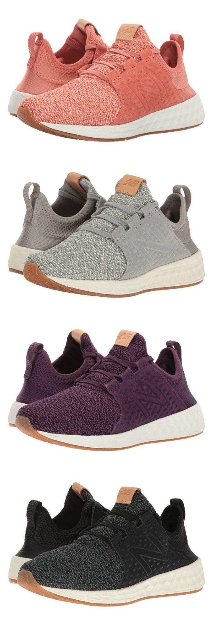 New Balance - Fresh Foam Cruz v1 Womens Running Shoes via Zappos
