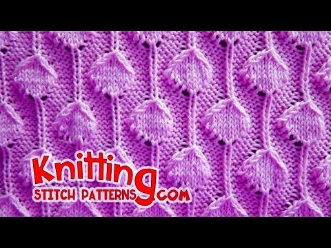 How to knit the Palm Tree Puff stitch. The Palm Tree Puff stitch is a great choice for scarves, sweaters, cardigans and baby blankets. I hope you enjoy this ...