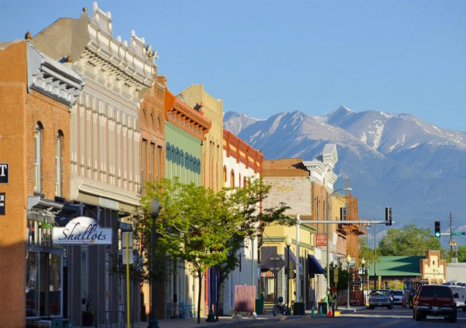 """Salida Colorado is known as the """"Heart of the Rockies"""" this city is located on the Arkansas River in Central Colorado. Flanked by 14,000 foot peaks Salida offers incredible scenery and recreation opportunities."""
