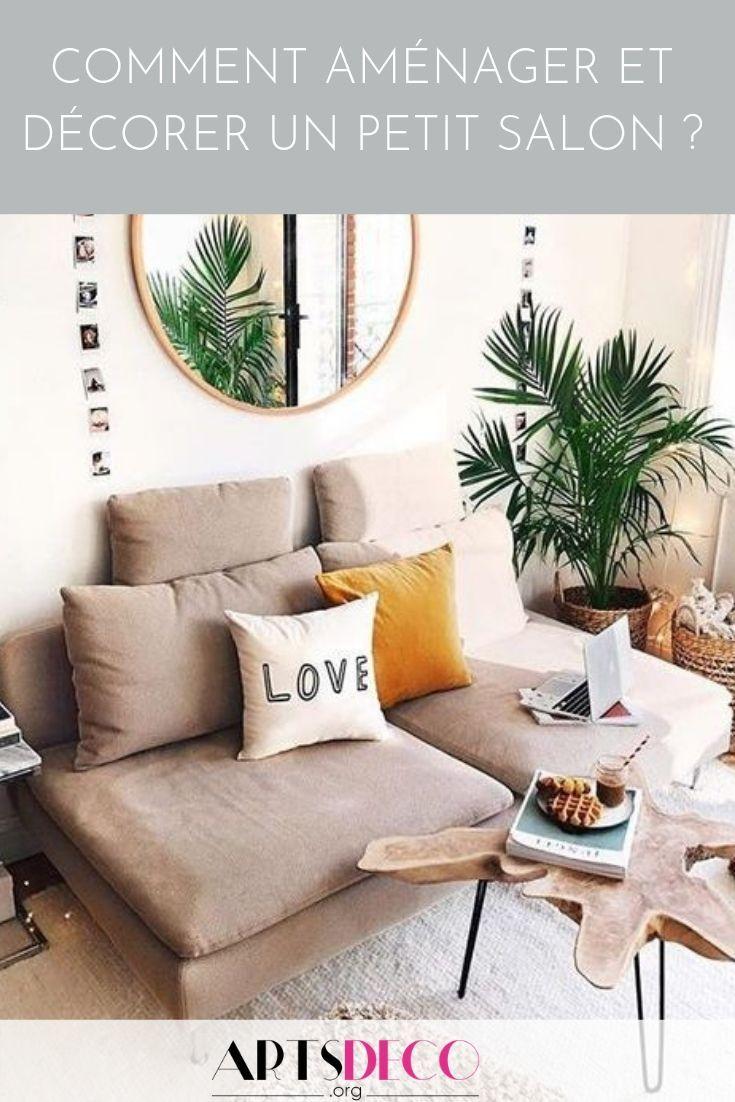 Comment aménager et décorer un petit salon ? - Artsdeco.org