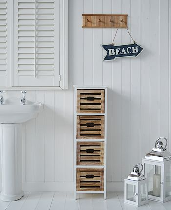 tall bathroom cabinet in the portside storage furniture new england style nautical storage from the