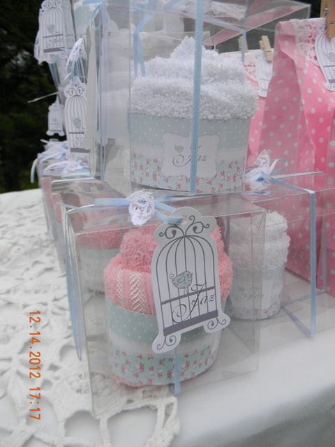 Favors at a Shabby Chic Party #shabbychic #partyfavors