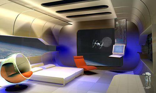 Futuristic Interior Design Boys Futuristic Interior And Kid