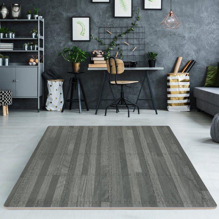 Wood Print Interlocking Foam Playmat Faux Wood Flooring Foam Tiles Foam Floor Tiles
