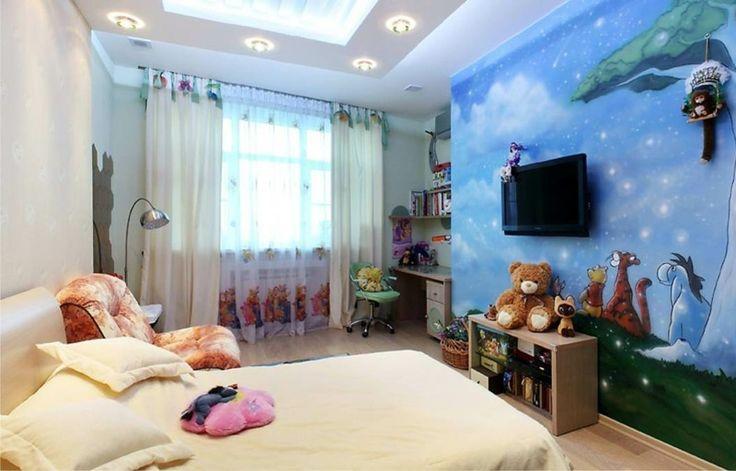 Niedliches Kinderzimmer mit Winnie Puh