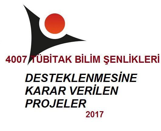 Tübitak 4007 Bilim Şenlikleri 2017