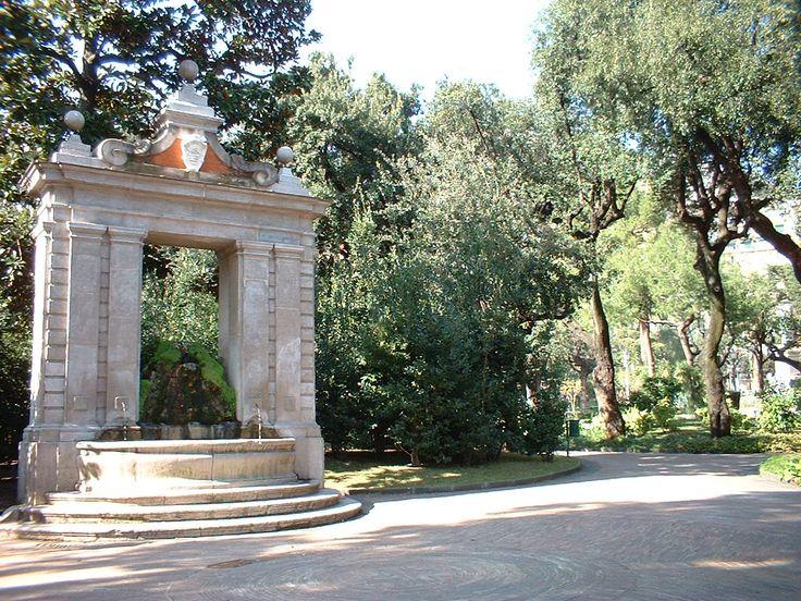 """The """" Villa Comunale"""""""